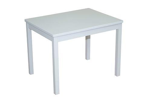 ROBA Kindertafel in wit