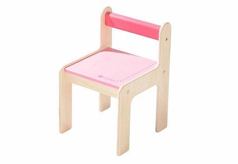 Kinderstoeltje, HABA, 'puncto roze'