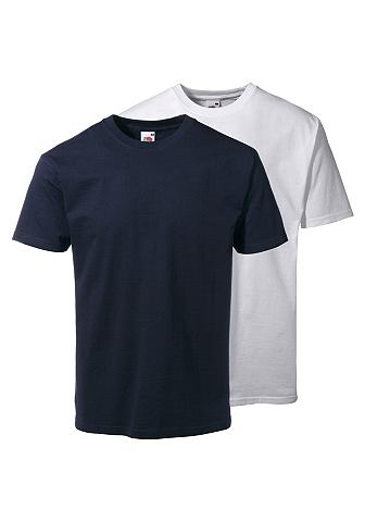 Fruit of the Loom T-shirt, set van 2