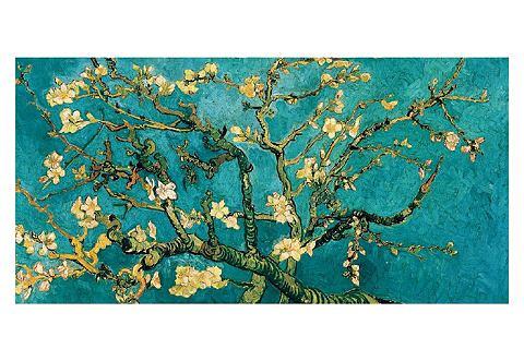 Artprint, Celeste, 'Mandorlo in fiore'