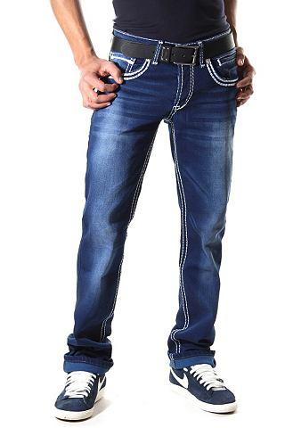 Bright Jeans Heupjeans van stretch