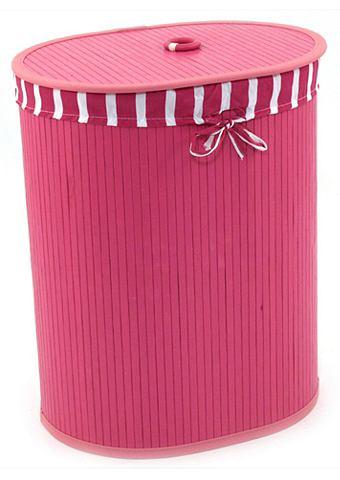 FRANZ MÜLLER FLECHTWAREN Wasbox ovaal pink