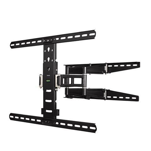 Hama Ultraslim Full Motion XL 5 sterren - Kantelbare en draaibare muurbeugel - Geschikt voor tv's van 37 t/m 65 inch - Zwart