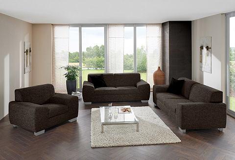 2-zitsbank + 3-zitsbank + fauteuil