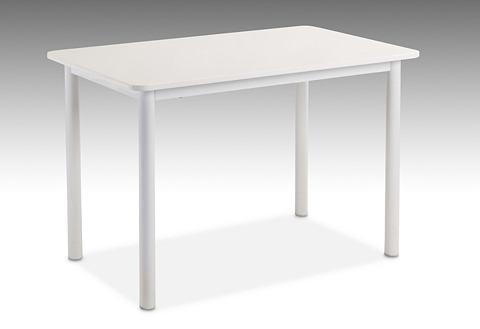Tafel met rechthoekig tafelblad