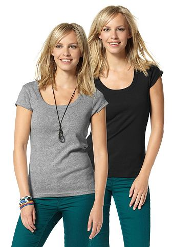 T-shirt, set van 2, AJC GIRLS