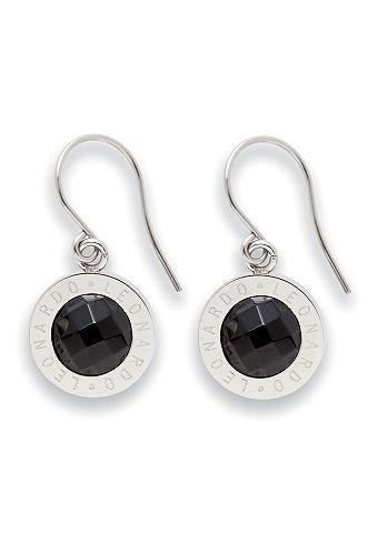 Oorhangers, Jewels by Leonardo, 'Matrix zwart'