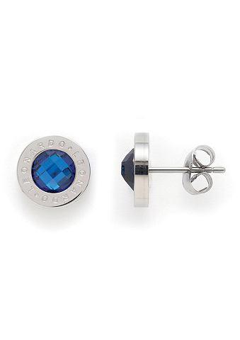 Oorstekers, Jewels by Leonardo, 'Matrix blauw'