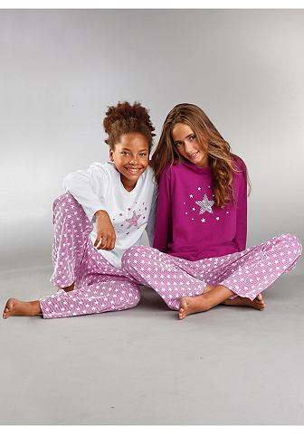 Pyjama, Petite Fleur, set van 2