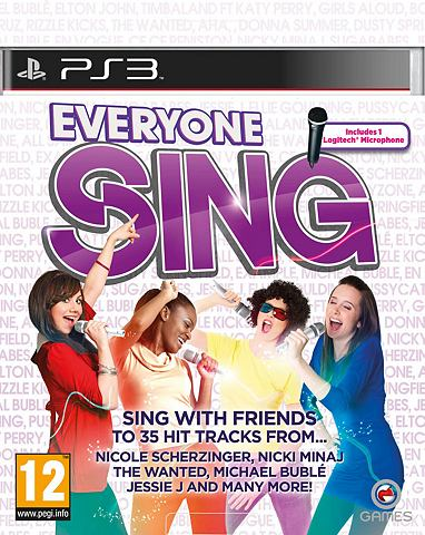 Game, PS3, Everyone Sing + 1 Microphone