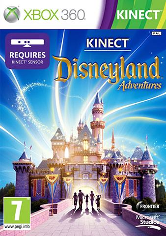 Game Kinect, Xbox 360, Disneyland Adventures