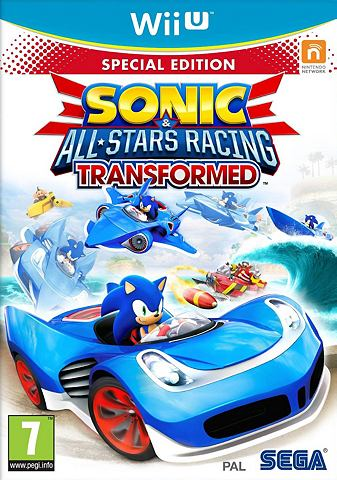 Game, Wii U, Sonic & All-Stars Racing Transformed (Limited Edition)
