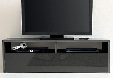 TV-meubel met 1 klep en 2 vakken
