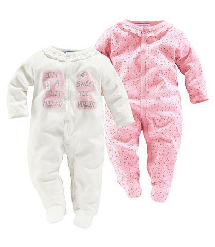 BABYWORLD Pyjama in set van 2 voor meisjes