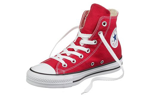 Converse CHUCK TAYLOR ALL STAR HI CORE CANVAS Sneakers hoog red