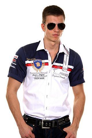 Bright Jeans Overhemd met korte mouwen (regular fit)