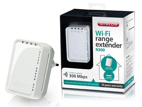 Wi-Fi Range Extender, Sitecom, N300 - WLX-2006