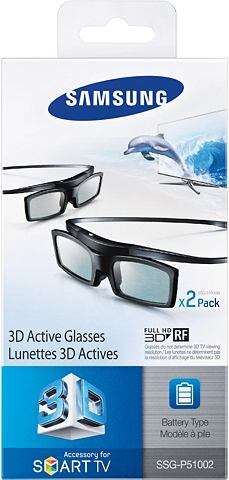 SAMSUNG 3D-bril SSG-P51002/XC in set van 2