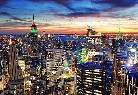 Fotobehang New York 272 x 198 cm