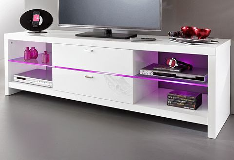 HMW MOBEL TV-meubel in hoogglans-look
