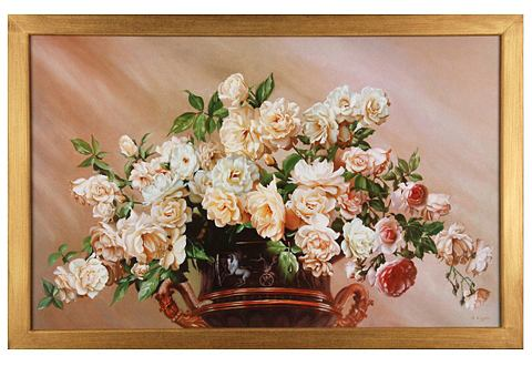 Artprint White Roses