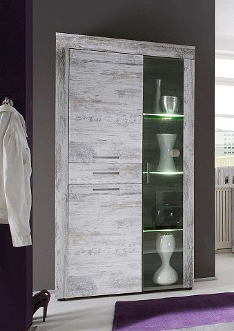Vitrinekast met LED-verlichting