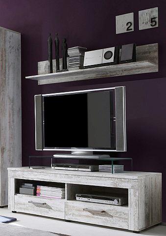 TV-meubel met 2 open vakken