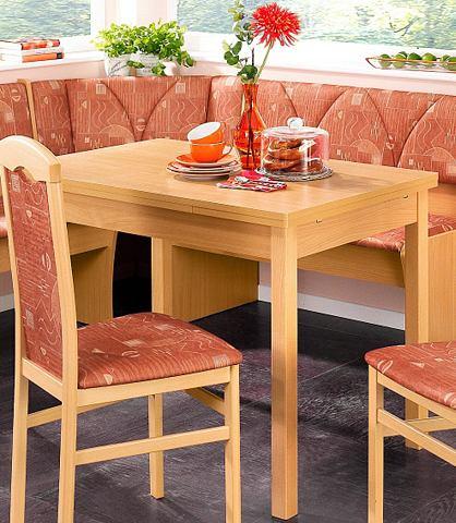 Eettafel met 2 uittrekbare bladen