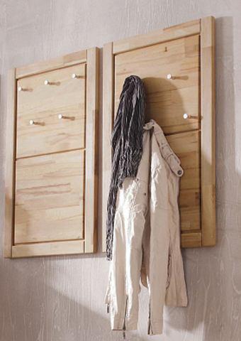 Wandpaneel Laura met front van beukenkernhout