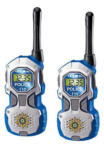 DICKIE TOYS Walkietalkie Politie in set van 2