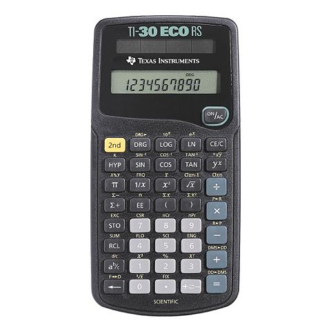 Texas Instruments Schoolrekenmachine »TI-30 eco RS«