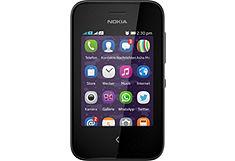 NOKIA Smartphone Asha 230 met 7,1 cm touchscreen