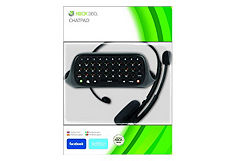 Messenger Kit (Chatpad+Headset), Xbox 360, Black