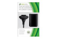 Oplaadkabel, Microsoft, 'Xbox 360 Play 'n Charge Kit'