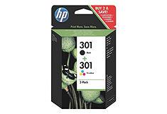 HP Set van 2 inktpatronen »HP 301«