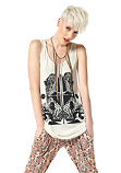 Material Girl lange top
