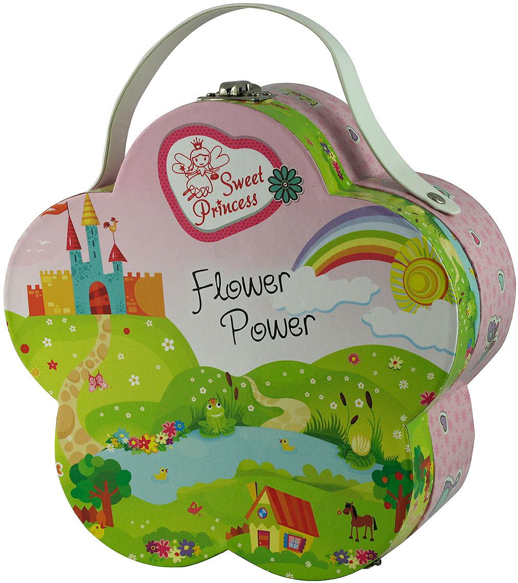 SWEET PRINCESS Make-upkoffer Flower Power 13-delig