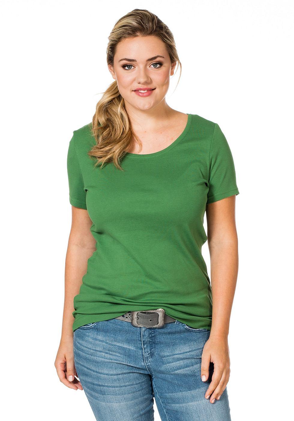 SHEEGO T-shirt met korte mouwen
