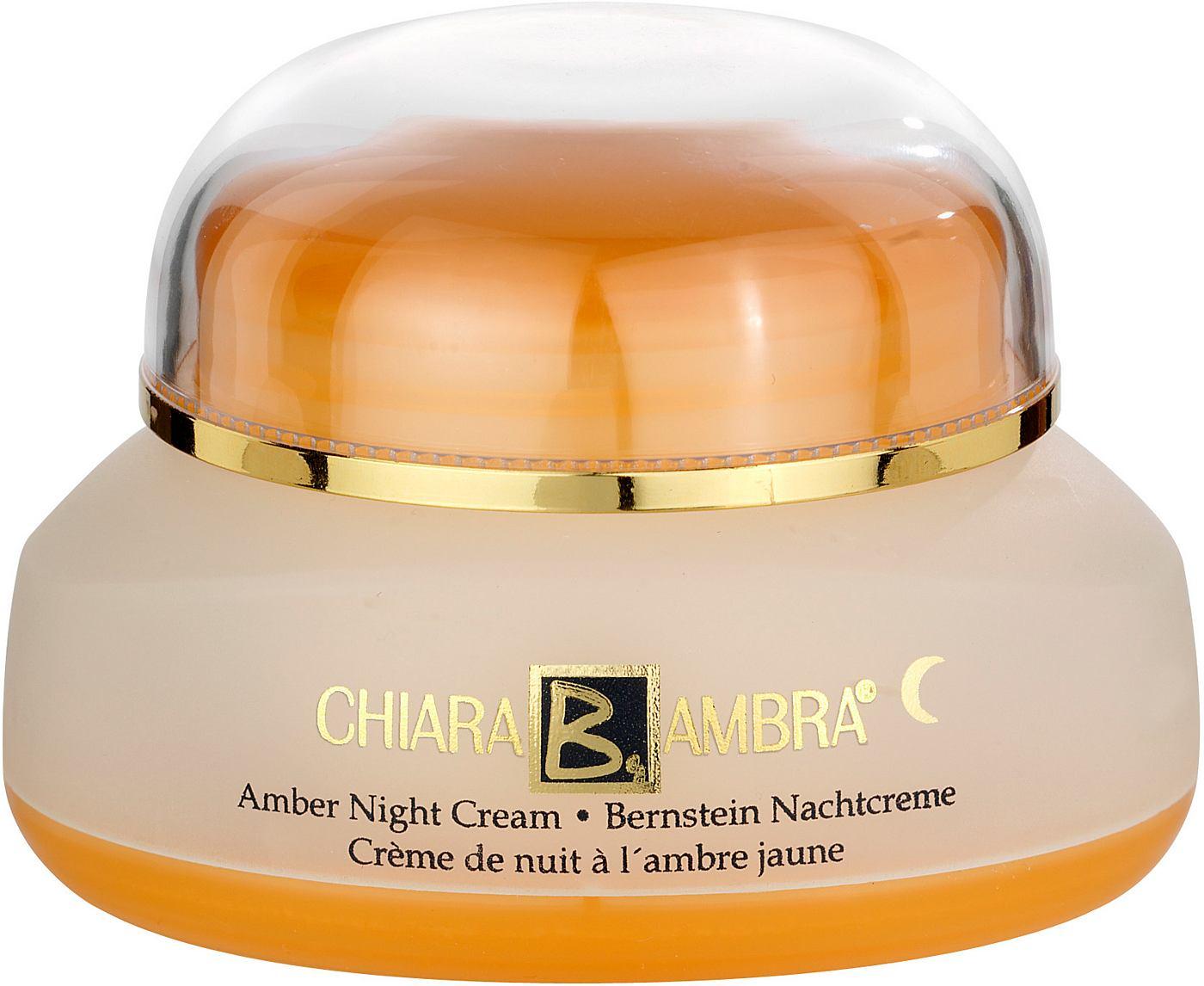 CHIARA AMBRA Bernstein nachtcrème anti-aging