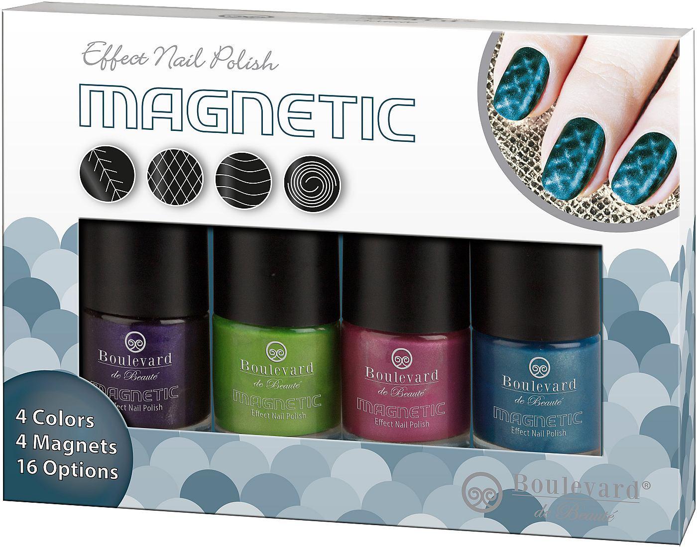 Nagellakset Magnetic Manicure 4-delig