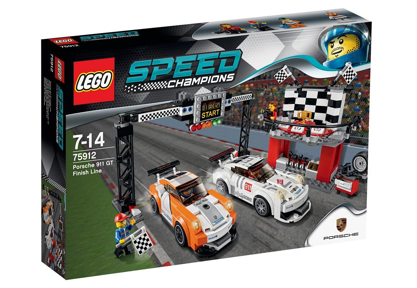 LEGO® SPEED CHAMPIONS Porsche 911 GT finish 75912