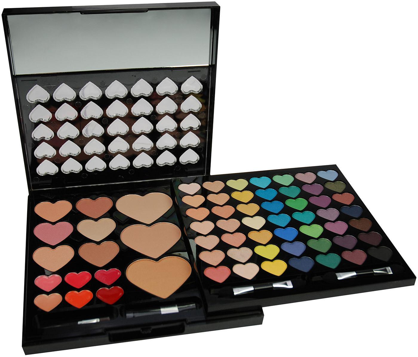 Make-upcase Heart Compact 64-delig