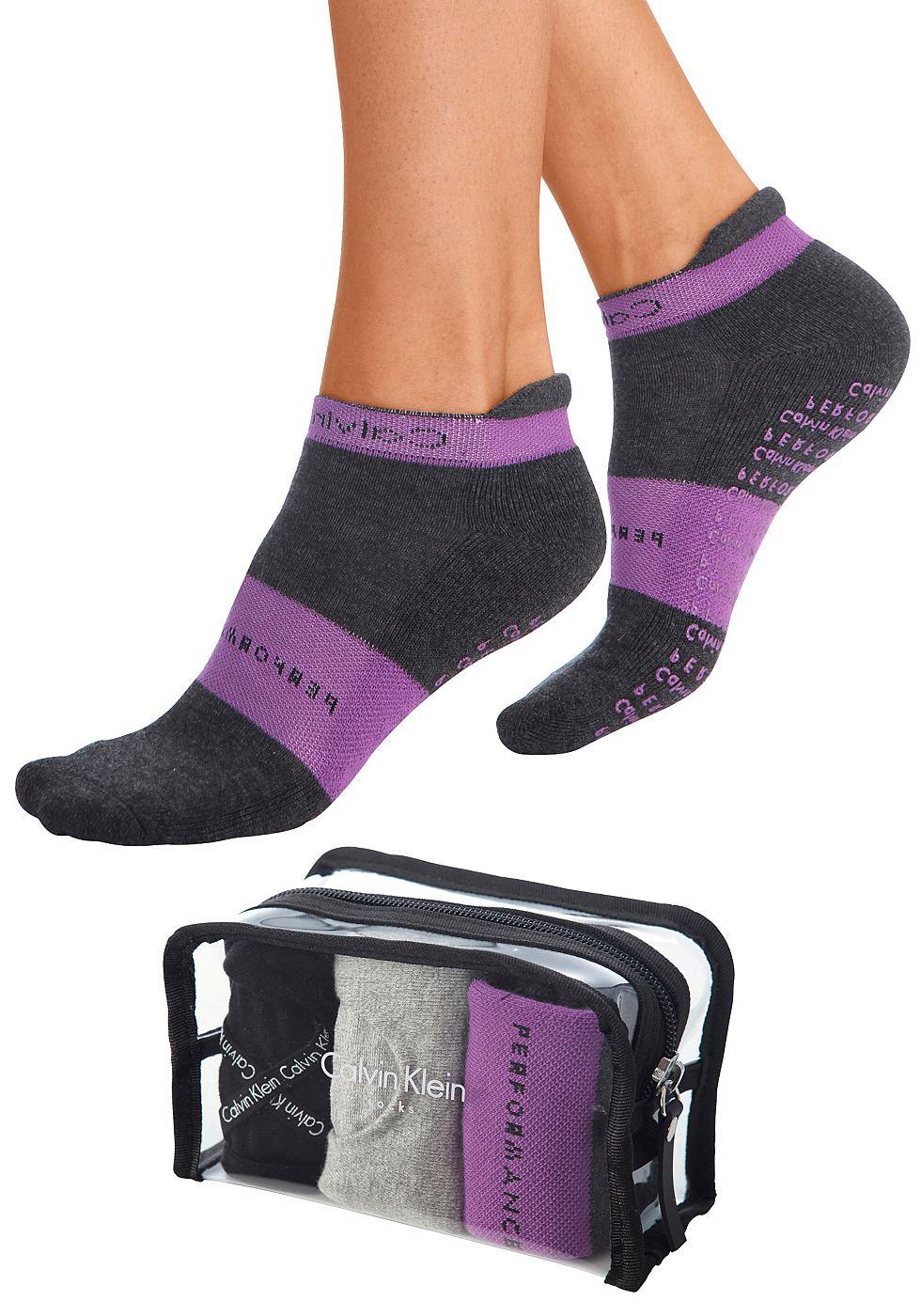 CALVIN KLEIN Workout-sokken in set van 3 paar