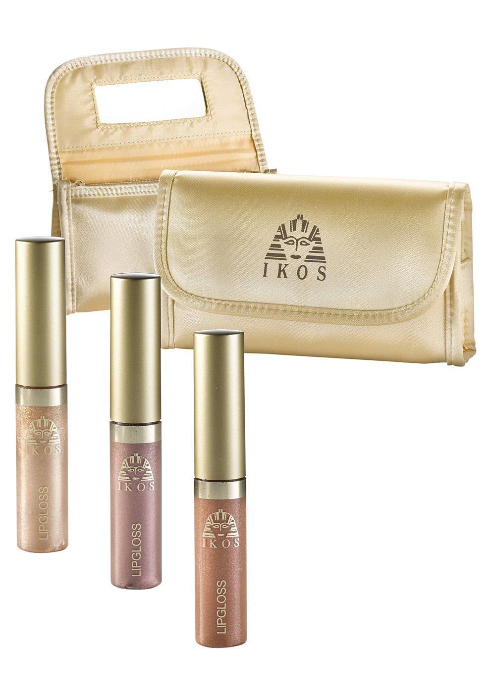 IKOS Lipgloss 4-delige set