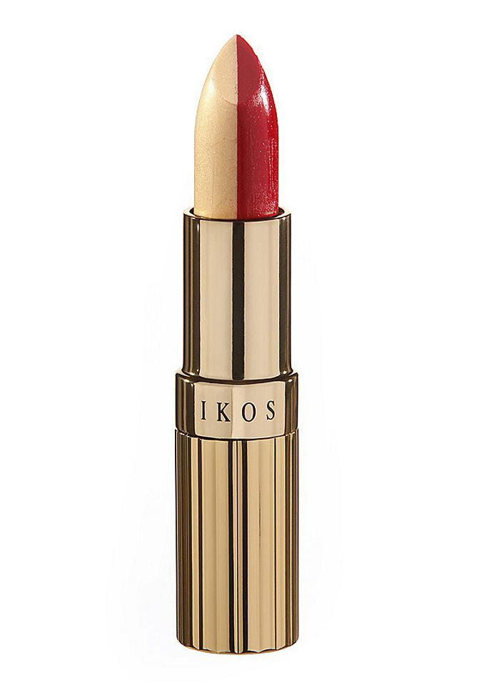 IKOS Duo-lippenstift abrikoos/hot red