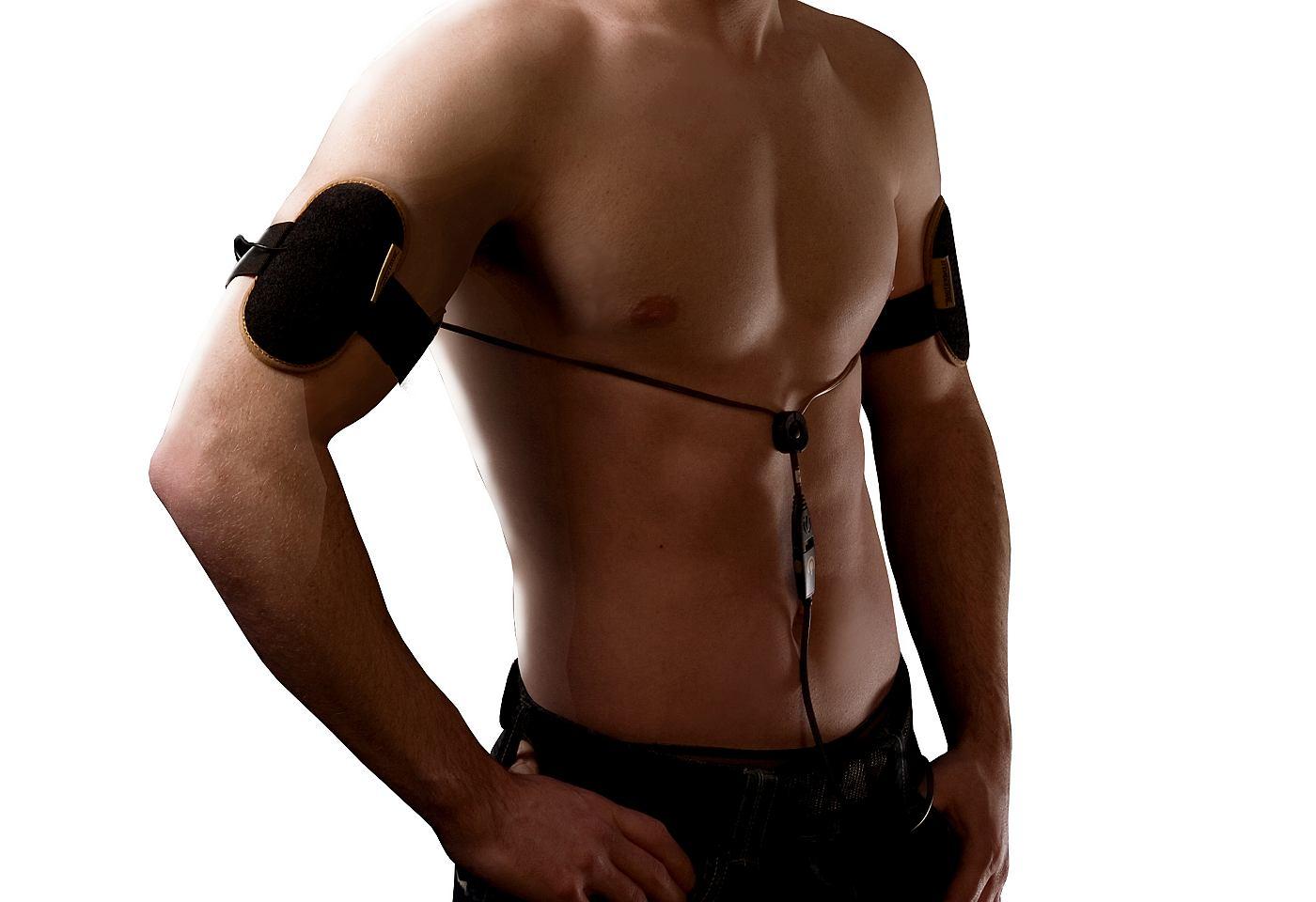 Slendertone accessoires armtraining 'Premium Male Arms' voor mannen