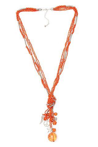 Sheego: prachtige zomerse ketting met kralen van acrylglas. opvallend aan deze ketting zijn de aantrekkelijke ...