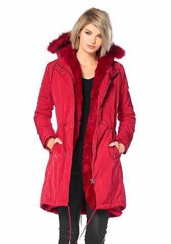 Laura Scott winterjas rood