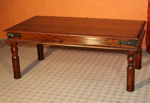 Salontafel, 'massief hout'