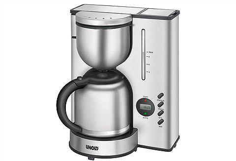 UNOLD Edelstalen koffiezetapparaat